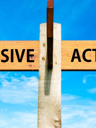 How to switch between active and passive writing
