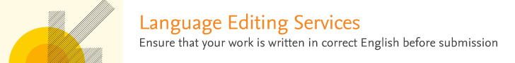 Language Editing Services by Elsevier Author Services