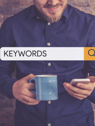 How to choose keywords for a manuscript?
